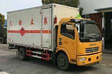 国五东风多利卡易燃气体厢式运输车