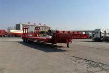 华宇达12.5米32吨3轴低平板半挂车(LHY9402TDPA)