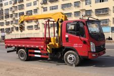 大力牌DLQ5042JSQXD5型随车起重运输车