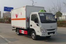 国六跃进HCQ5033XRQSH6型易燃气体厢式运输车