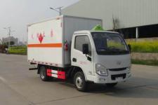国六跃进小福星3米3易燃液体厢式运输车价格13635739799