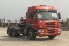 解放牌CA4250P1K15T1NE6A80型平头天然气牵引车图片