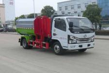 普陀区垃圾车在那里买国六东风多利卡自装卸式垃圾车  厂价