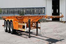 纳发祥12.5米34吨3轴集装箱运输半挂车(FMT9403TJZG)