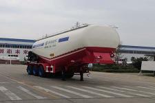 盛润9米31.9吨3轴中密度粉粒物料运输半挂车(SKW9406GFLZ)