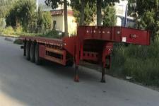悍拓12.5米33.2吨3轴低平板半挂车(JSH9400TDP)