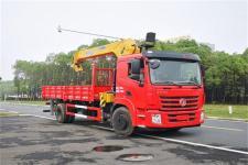 国六东风单桥8吨随车吊价格多少钱13329882498