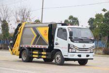国六5方压缩垃圾车多少钱-垃圾车厂家哪家好