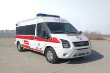 國六福特V348長軸中頂救護車