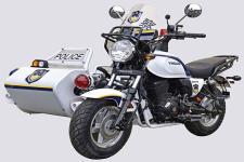 银钢牌YG200BJ型边三轮摩托车图片