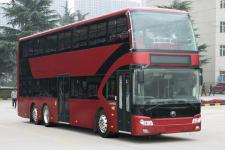 宇通牌ZK6126BEVGS5A型纯电动双层低地板城市客车图片