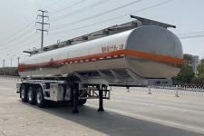 楚飛10.7米33.9噸3軸鋁合金易燃液體罐式運輸半掛車(CLQ9401GRYBA)