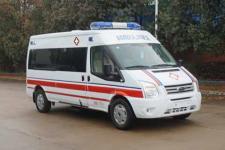 國六福特V348長軸中頂救護車廠家直銷價格多少錢
