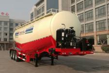杨嘉10.8米30.1吨3轴低密度粉粒物料运输半挂车(LHL9408GFLB)
