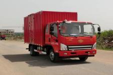 一汽解放轻卡国五单桥厢式运输车122-212马力5吨以下(CA5041XXYP40K17L1E5A84-3)