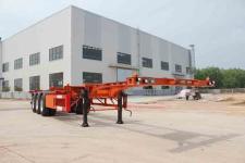 皖汽汽车12.5米34.5吨3轴集装箱运输半挂车(CTD9400TJZG)