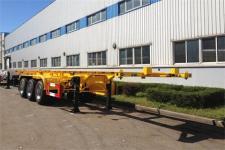 黄海9.8米34.9吨3轴危险品罐箱骨架运输半挂车(DD9402TWY)