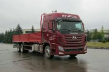 现代国五后双桥,后八轮货车379马力13005吨(CHM1250KPQ70V)