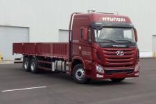 现代国五后双桥,后八轮货车379马力12605吨(CHM1250KPQ72V)