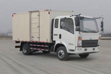 重汽HOWO轻卡国五单桥厢式运输车131-231马力5吨以下(ZZ5087XXYF331CE183)