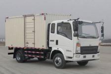 豪沃国五单桥厢式货车156-243马力5吨以下(ZZ5087XXYG381CE183)