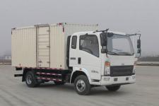 豪沃国五单桥厢式货车143-231马力5吨以下(ZZ5087XXYG331BE183)