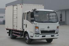 豪沃国五单桥厢式货车116-193马力5吨以下(ZZ5087XXYF3314E183)