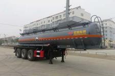 特运9.7米33.2吨3轴腐蚀性物品罐式运输半挂车(DTA9408GFWC)