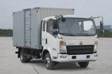 豪沃国五单桥厢式货车131-231马力5吨以下(ZZ5047XXYF341CE145A)