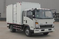 豪沃国五单桥厢式货车156-231马力5吨以下(ZZ5107XXYG3315E1)