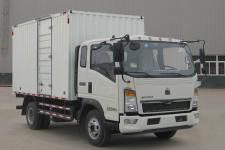 豪沃国五单桥厢式货车116-212马力5吨以下(ZZ5107XXYF3315E1)