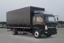 豪沃国五单桥厢式货车131-231马力5吨以下(ZZ5047XYKF341CE145)