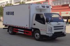 国六江铃4米2蓝牌冷藏车价格