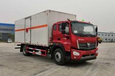 国六福田瑞沃易燃气体厢式运输车
