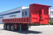 蒙天盛8米31.5吨3轴自卸半挂车(MTS9400ZH)