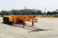 斯派菲勒12.5米34吨3轴集装箱运输半挂车(GJC9402TJZ)