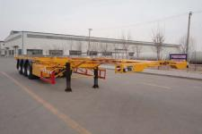 昌骅12.3米34.4吨3轴危险品罐箱骨架运输半挂车(HCH9401TWY)