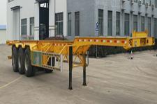 鸿盛业骏14米34吨3轴集装箱运输半挂车(HSY9402TJZE)
