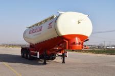 红荷北斗9.3米31.8吨3轴中密度粉粒物料运输半挂车(SHB9409GFL)