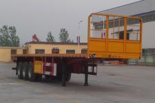 同强11米33.5吨3轴平板运输半挂车(LJL9400TPB)