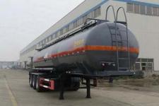 特运10.8米30.6吨3轴腐蚀性物品罐式运输半挂车(DTA9405GFWB)
