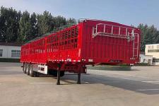 梁昇12米33吨3轴仓栅式运输半挂车(SHS9400CCYE)