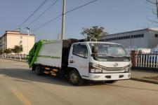 國六東風多利卡6方壓縮式垃圾車價格13728635266