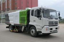 国六东风天锦HYS5180TXCE6型吸尘车报价