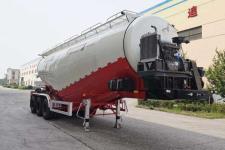 皖汽汽车9.9米32.8吨3轴中密度粉粒物料运输半挂车(CTD9400GFL)
