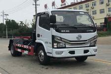 国六 东风多利卡车厢可卸式垃圾车 几多钱