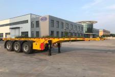蒙凯9.3米35.1吨3轴集装箱运输半挂车(MK9400TJZB1)