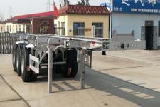 恒通梁山9.3米36.2吨3轴铝合金集装箱运输半挂车(CBZ9406TJZ)