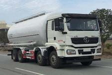 国六陕汽前四后八低密度粉粒物料运输车13329882498