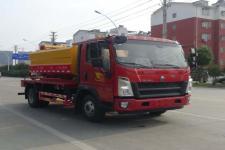 华通牌HCQ5040GQWZZ6型清洗吸污车